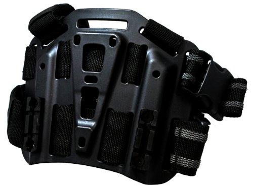 BHIスタイル CQCホルスター用プラットフォーム SERPA レッグパネル ブラック