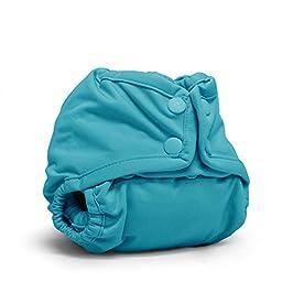 Rumparooz Newborn Cloth Diaper Cover Snap, Aquarius