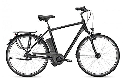E-Bike Raleigh Dover Impulse 8R LTD 2017 Rücktritt 28 Zoll Herren 17 Ah 8-G Shimano Nexus div. Rh, Rahmenhöhen:50;Farben:Magicblack matt