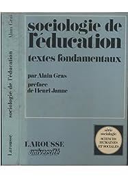 Sociologie de l'éducation, textes fondamentaux
