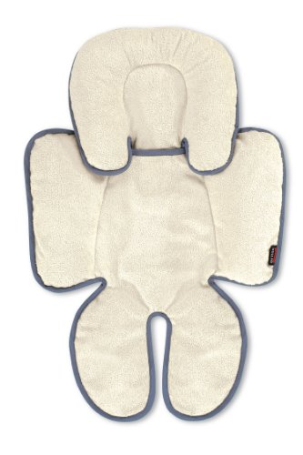 Britax Head And Body Support Pillow, Iron/Gray front-875174