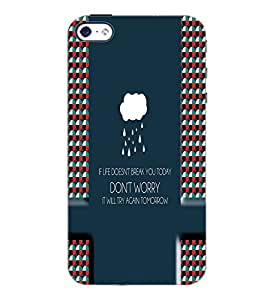 PrintDhaba Quote D-5990 Back Case Cover for APPLE IPHONE 4 (Multi-Coloured)
