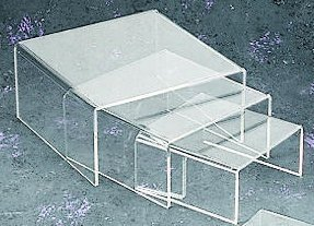 medium-low-profile-riser-3pcs-set-in-clear-acrylic-by-tripar