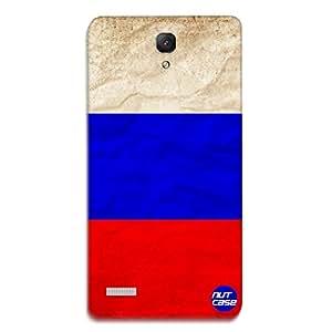 Designer Xiaomi Redmi Note Prime Case Cover Nutcase -Russia Vintage Distressed Flag