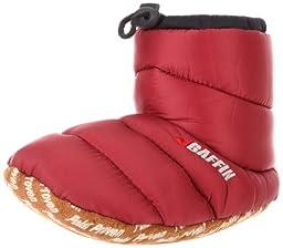 Baffin Cush Slipper Boot (Little Kid/Big Kid),Merlot,(YM)12-13 M US Little Kid