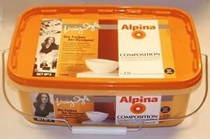 alpina wandfarbe composition look matt mango gelb 2 5 liter baumarkt. Black Bedroom Furniture Sets. Home Design Ideas