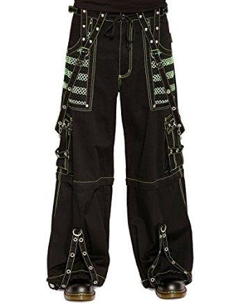 Tripp Chain Electro Cyber Goth Bondage Rave Pants (XXL)