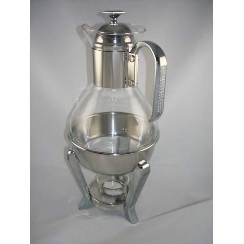 Glitter Stainless Steel Tea/Coffee Warmer Set