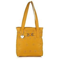 Butterflies Handbag (Yellow) (BNS 0451 YL)