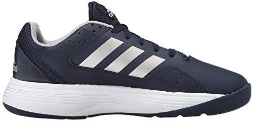 Adidas Performance Men's Cloudfoam Ilation Basketball Shoe,Collegiate Navy/Metallic Silver/Metallic Silver,11.5 M US