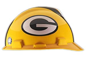 MSA Safety Works NFL Hard Hat, Green Bay Packers