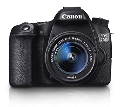 Canon EOS 70D DSLR (With EF-S 18-55 mm IS STM Lens)
