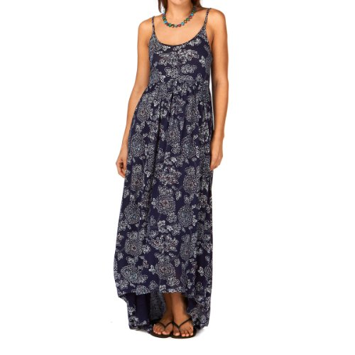 Quiksilver Womens Blue Skies Floral Maxi Dress - Blue Skies Flow picture