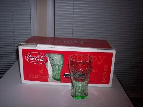 coca cola glasses. Genuine Coke Coca Cola Glasses