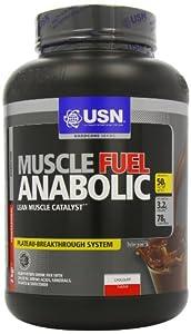 USN Muscle Fuel Anabolic Lean Muscle Gain Shake Powder, Chocolate - 2 kg