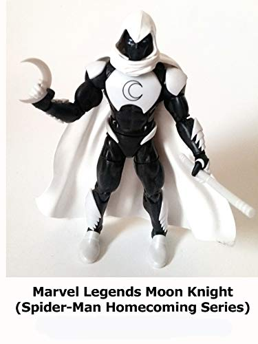 Clip: Marvel Legends Moon Knight (Spider-Man Homecoming Series) on Amazon Prime Video UK