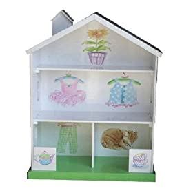 Amazon - LC Creations Tea Party Bookcase - $37.50 shipped
