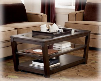 Caron Rectangular Cocktail Table By Ashley Furniture