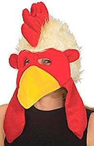 Chicken Hat with Mask, Adult, One Size