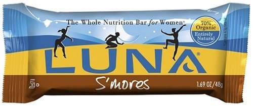 Luna Bars, S'Mores, 1.69-Ounce Bars, 15 Count