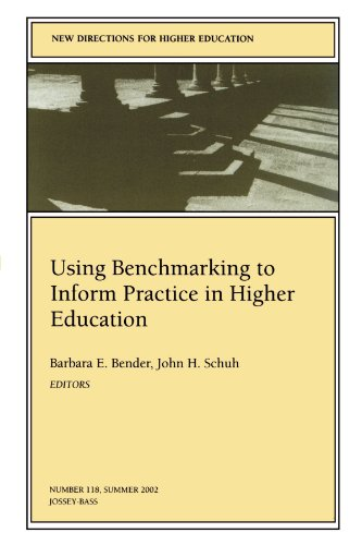 Using Benchmarking to Inform Practice in Higher Education: New Directions for Higher Education (J-B HE Single Issue High