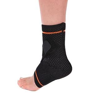 BRD Sport Ankle Plantar Fasciitis Brace (Left) Small Black