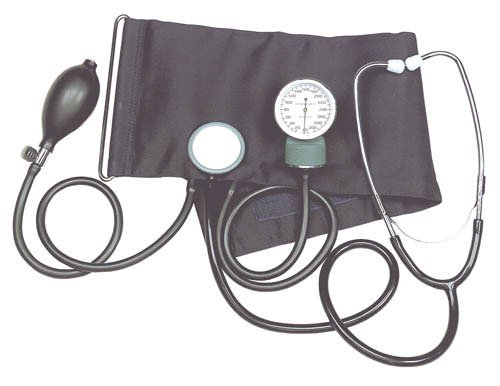 Cheap Aneroid Blood Pressure Kit w/Stethoscope (Catalog Category: Blood Pressure / Aneroid Blood Pressure) (B005HEZZKE)
