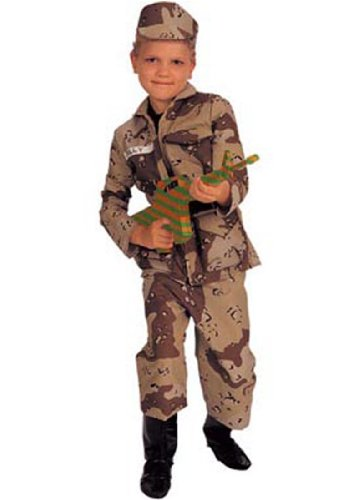 Child Deluxe Special Forces Costume