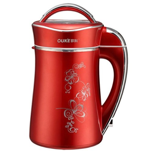 Why Should You Buy OUKE Soy Milk Maker (Red)