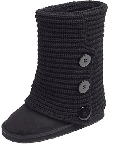 sunville-womens-faux-suede-boot-with-rib-knit-sweater-crochet-exterior-and-faux-fur-lining-solid-bla