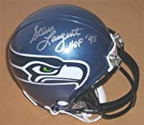 Steve Largent Signed Seattle Seahawks Mini-Helmet at Amazon.com