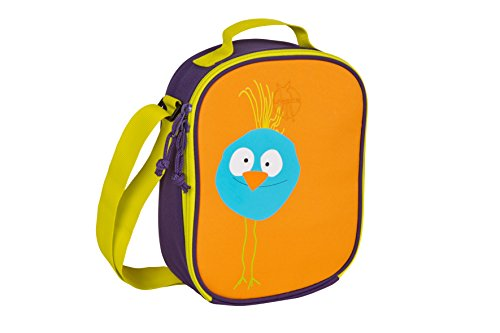 Lassig 4Kids Mini Lunch Bag Wildlife, Birdie/Orange