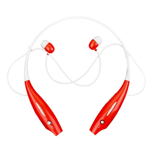 Universal(Hbs-700) Wireless Bluetooth Stereo Headset Neckband Style Red