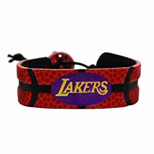 Los Angeles Lakers?Classic Basketball Bracelet by GameWear