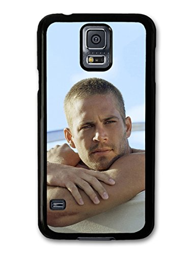 Paul Walker Portrait Crossing Arms Shirtless custodia per Samsung Galaxy S5