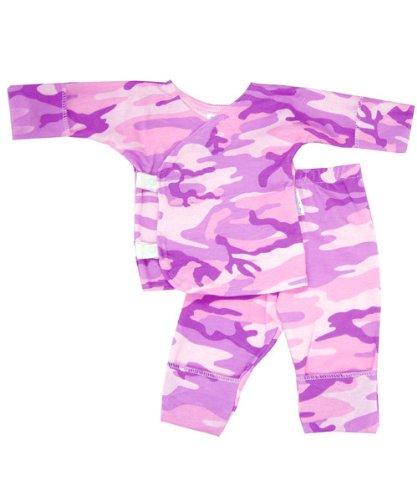 Pink 'n Purple Camo Side Snap Set