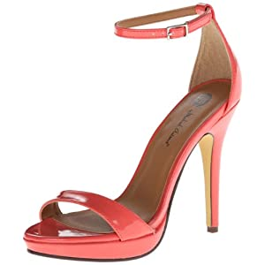 Michael Antonio Women's Lovina PT Dress Sandal,Coral,9 M US