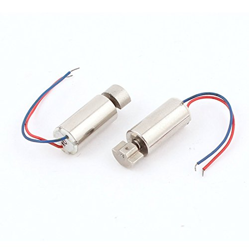 DC 3V 1500RPM Micro Cell Phone Coreless Vibration Motor 6mmx12mm 5 Pcs