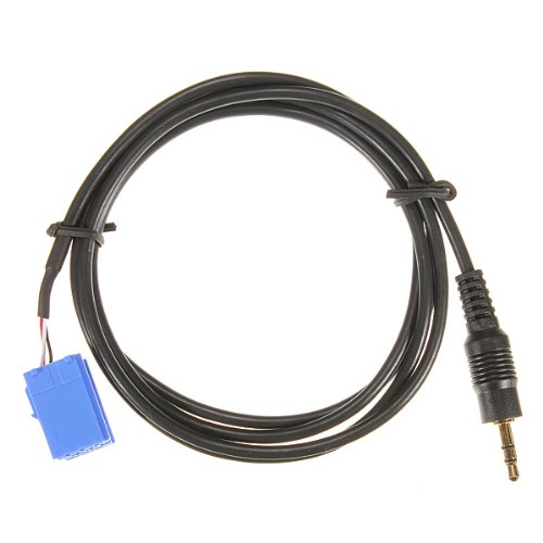 Auto-Radio-Kabel-TOOGOO-R-Aux-In-Eingang-Adapter-Schnittstellenkabel-fuer-Blaupunkt-Auto-Radio-iPod-MP3-35mm-Kopfhoerer-Buchse