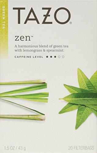 Tazo Zen Green Tea 2-pack;40 Tea Bags. - 1