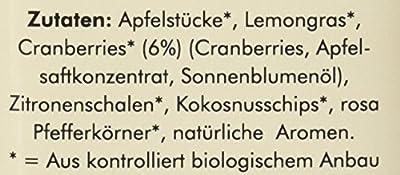 Quertee - Bio - Früchtetee - Cranberry fresh in einer Teedose - 120 g - Loser Tee, 1er Pack (1 x 120 g) von Quertee bei Gewürze Shop