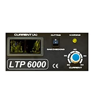 Lotos 110VAC/220VAC Dual Voltage 60 Amp Plasma Cutter with Pilot Arc LTP6000 from Lotos