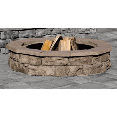 Natural Concrete Products Outdoor Firepit - Natural
