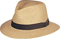 Bailey Brooks Panama Hat (Large, Putty)