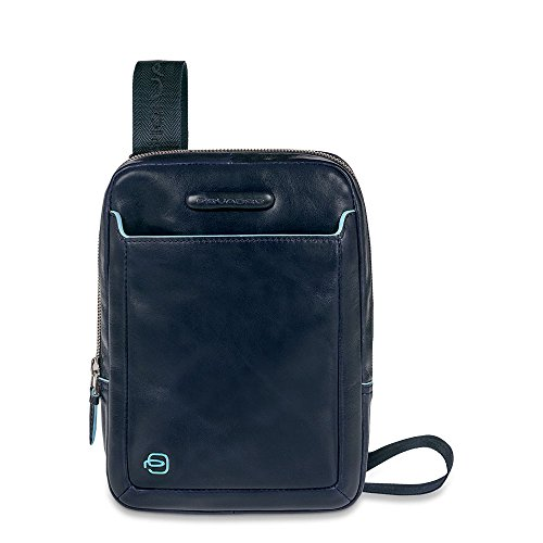 Piquadro CA3084B2 Borsello, Collezione Blu Square, Blu