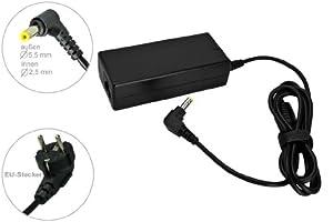 Notebook Netzteil AC Adapter Ladegerät 65W 19V für Medion Akoya E7214, E5010, E6214, E1221, E5313, E7216, E5011, E6215, E1222, E5411, E5211, E5218, E6217, E1226, E6210, Mini E1217, Mini E1311. Mit Euro Stromkabel von e-port24®.