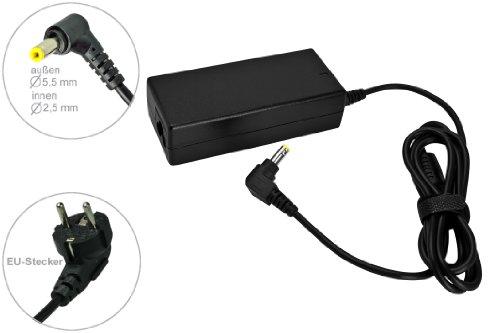 65W Notebook Netzteil AC Adapter Ladegerät für Toshiba Satellite C850-1MF C850D-115 C850D-11C C850D-11G C850D-11K C850D-12C C850D-12U C855-1Q2 C855-2FQ C870-1EW. mit Euro Stromkabel