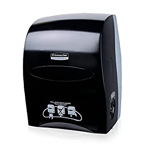 Sanitouch Hard Roll Paper Towel Dispenser (09996) in Black 1 per Case