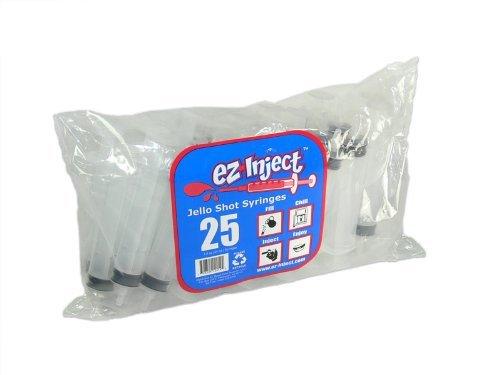 25 Pack EZ-InjectTM Jello Shot Syringes (Large