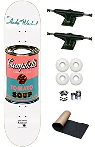 Alien Workshop Andy Warhol Campbell Soup Can Icon 8.0 Skateboard Deck Complete With... by Alien Workshop